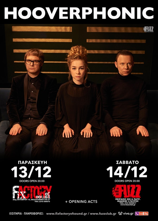 Hooverphonic Dec poster