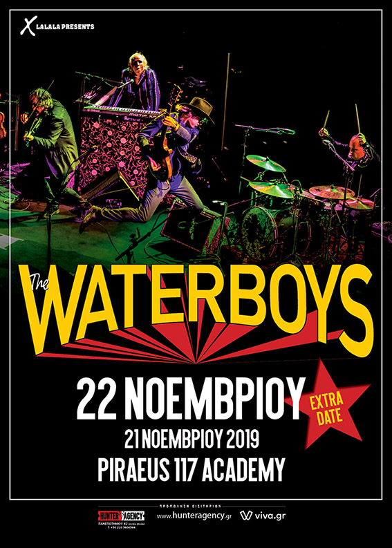 Waterboys 22 Nov poster