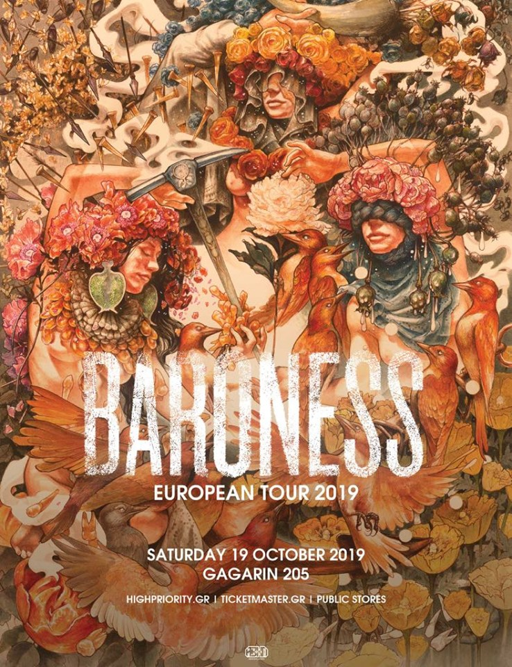 Baroness poster