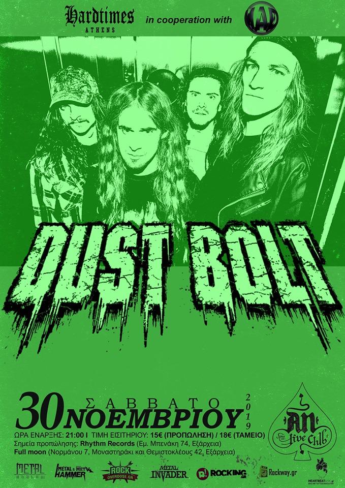 Dust Bolt poster 30-11-19