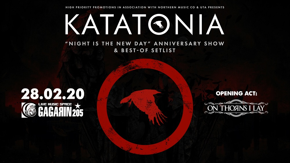 Katatonia 28 Feb banner