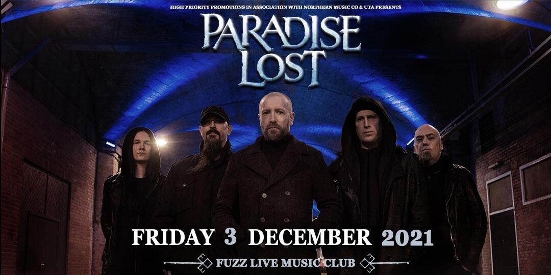 Paradise Lost 3 Dec banner