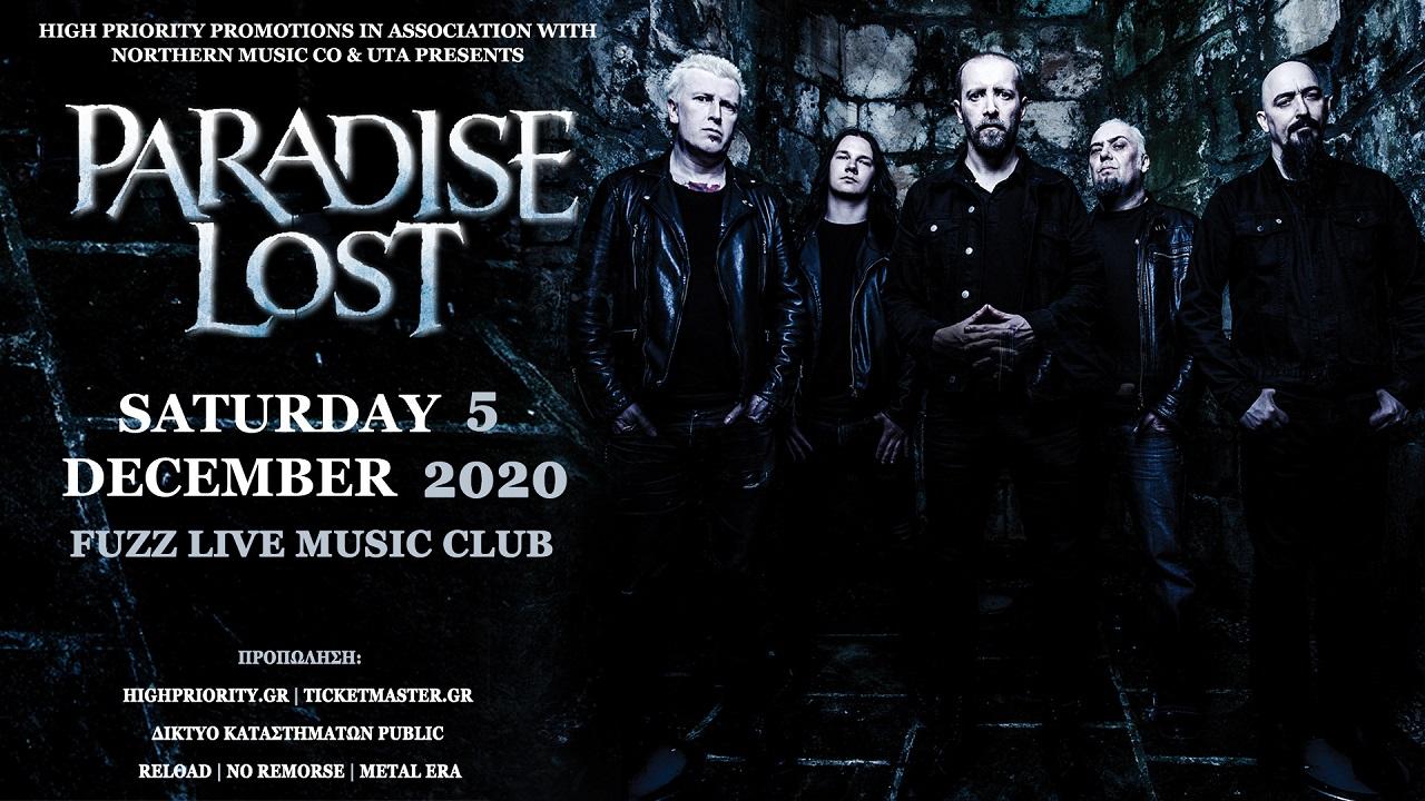Paradise Lost December 2020 banner