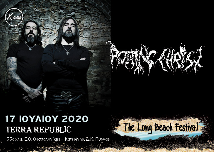 Rotting Christ 17 Jul The Long Beach Festival banner