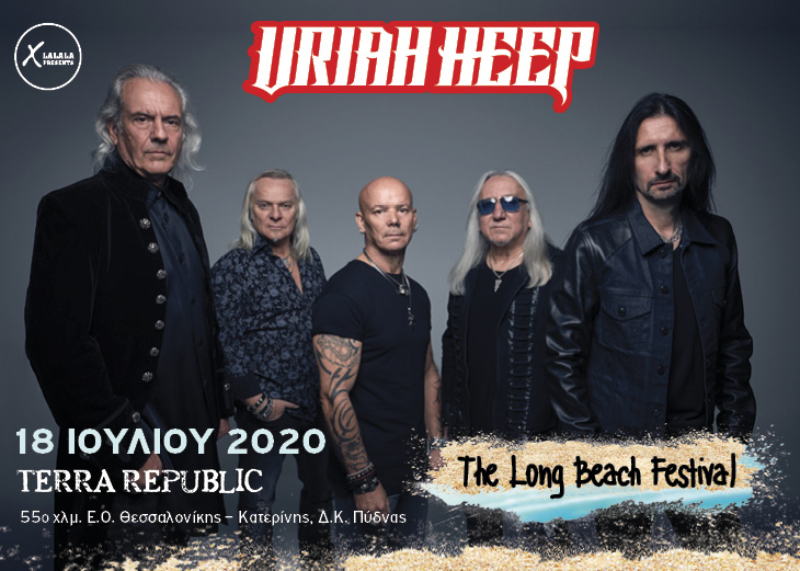 Uriah Heep 18 Jul The Long Beach Festival banner
