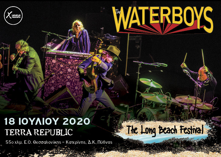 Waterboys 18 Jul The Long Beach Festival banner
