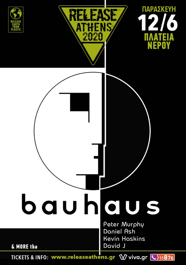 Bauhaus Release Athens 2020 12 June poster