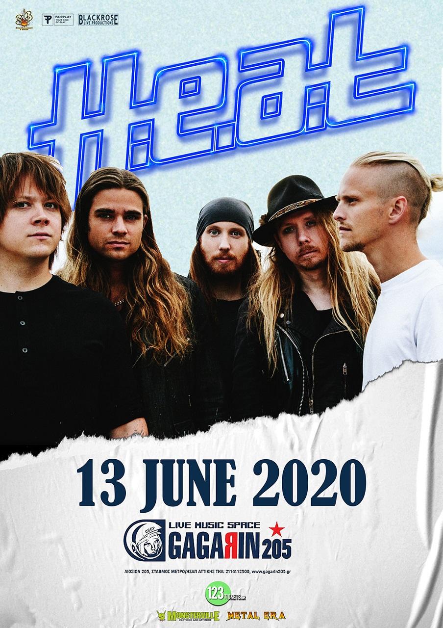 HEAT 13 June poster