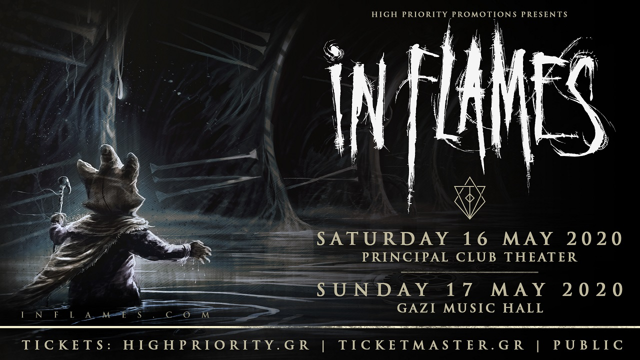 In Flames May banner