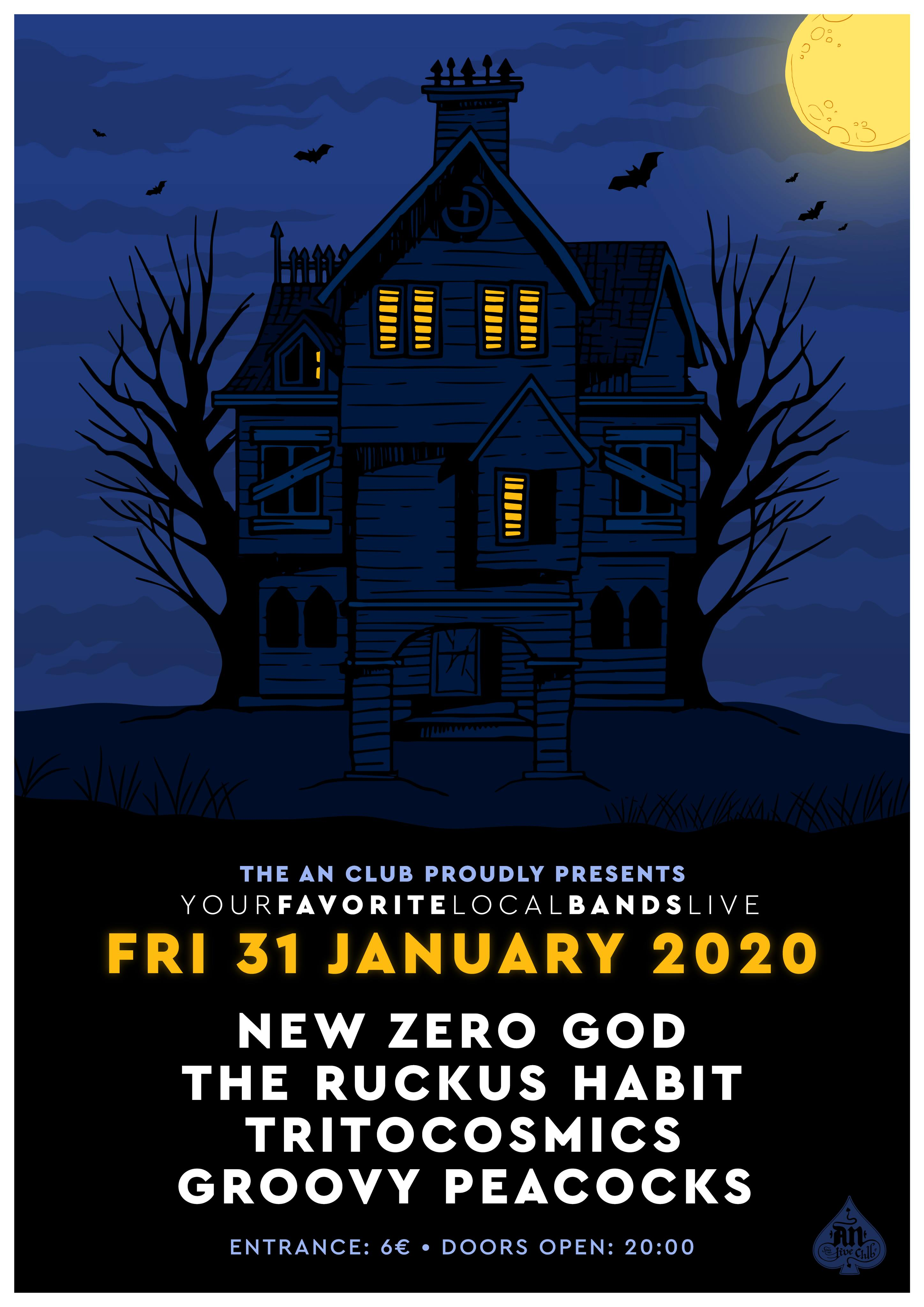 New Zero God FRI 31 January
