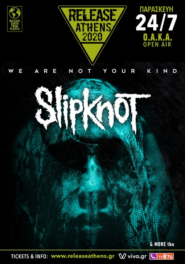 Slipknot 24 Jul poster