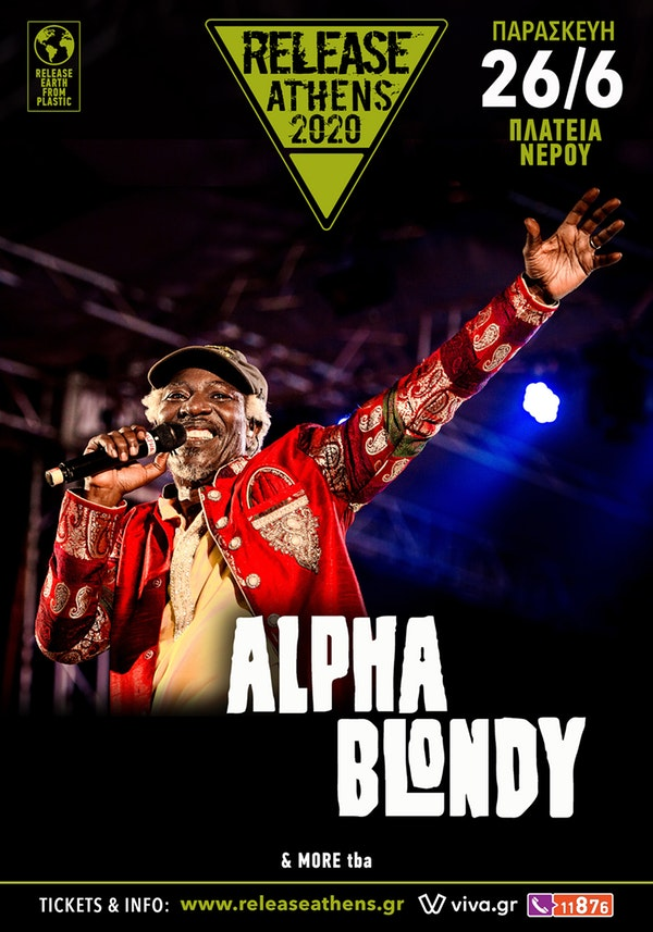 Alpha Blondy 26 June poster