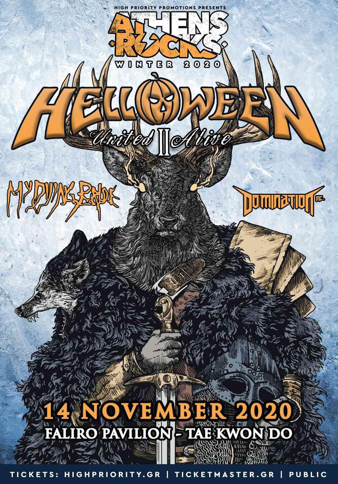 AthensRock Winter Helloween 14 Nov Poster