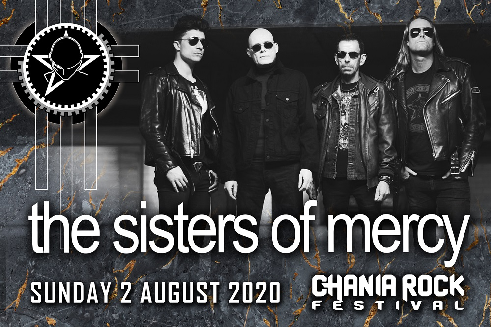 Sisters of Mercy Chania Rock Festival