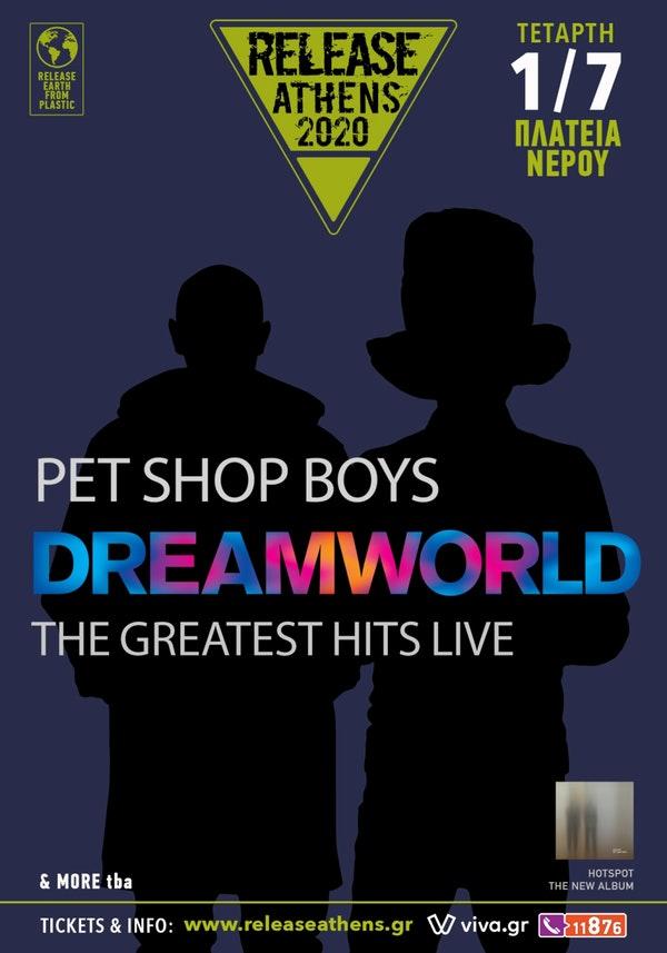 Release Athens Pet Shop Boys 1 Jul poster