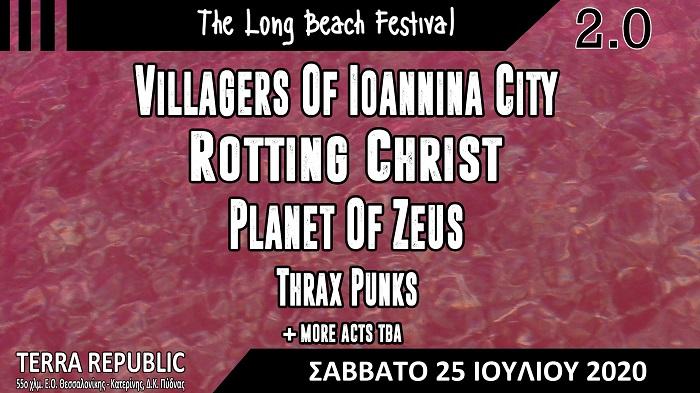 Long Beach Festival 25 July banner