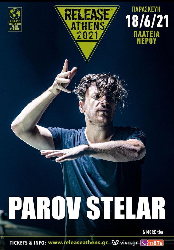Parov Stelar Release Athens 2021 poster