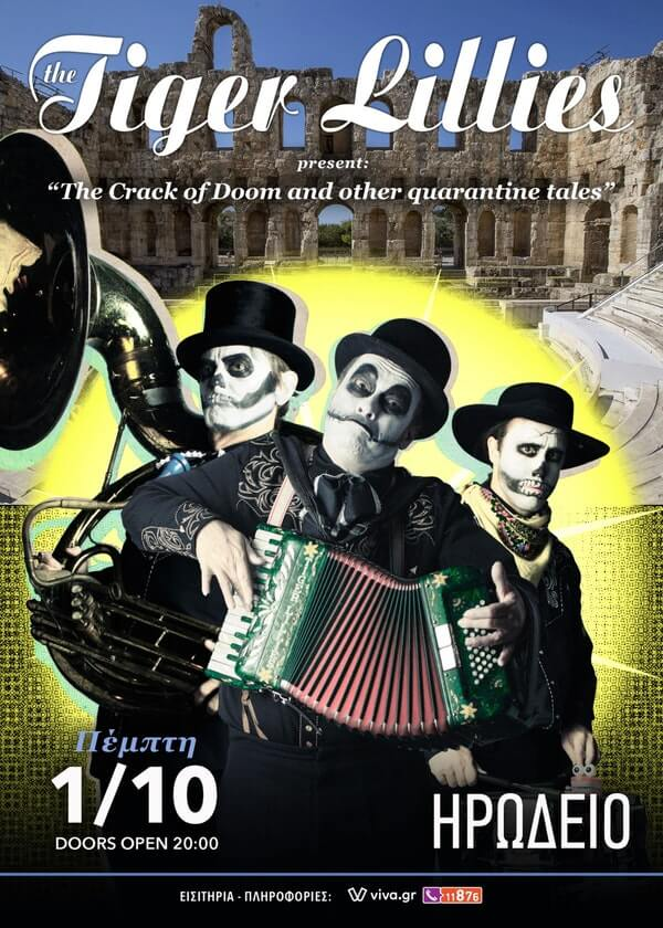 Tiger Lillies Irodio poster 1 Oct