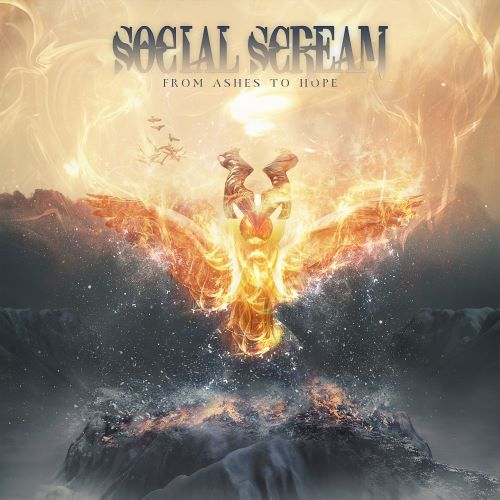 social scream from ashes