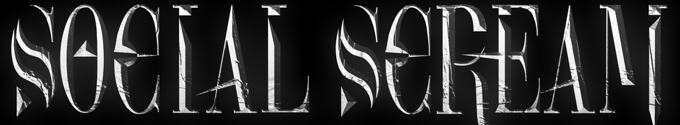 social scream band logo