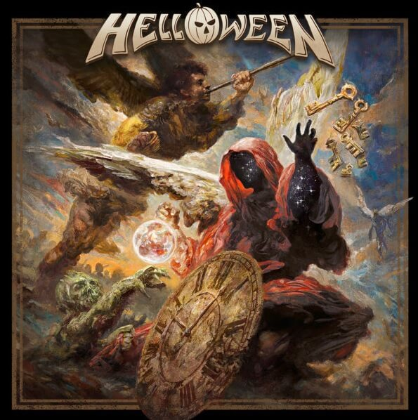 Helloween - Helloween album cover
